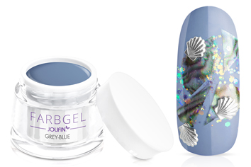 Jolifin Farbgel grey-blue 5ml