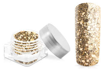 Jolifin Illusion Glitter VIII luxury gold