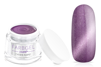 Jolifin Cat-Eye Farbgel purple 5ml