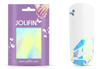 Jolifin Diamond Foil - silver