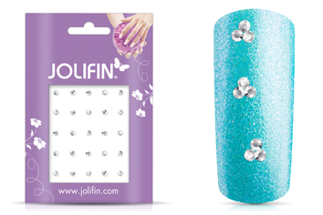 Jolifin Strass-Sticker klein