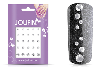 Jolifin Strass-Sticker Mix
