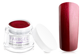 Jolifin Wetlook Farbgel shiny cherry 5ml