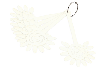 Jolifin Präsentationsdisplay Blume - 5er Set natur