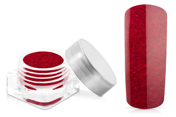 Jolifin Velvet Powder red