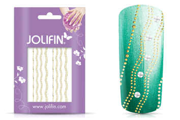 Jolifin Lace Sticker - Gold 2