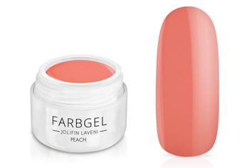Jolifin LAVENI Farbgel - peach 5ml