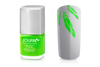 Jolifin Stamping-Lack neon-green Glimmer