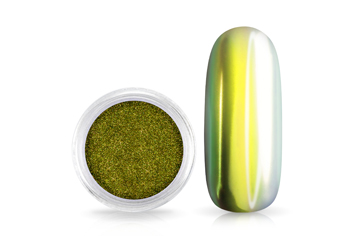 Jolifin Mirror-Chrome Pigment - FlipFlop gold & green