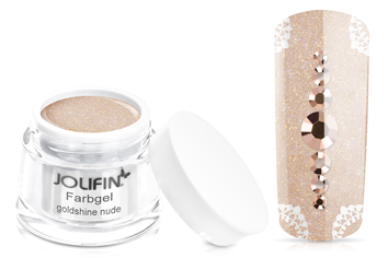 Jolifin Farbgel goldshine nude 5ml