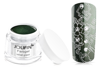 Jolifin Farbgel velvet green 5ml