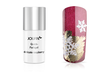 Jolifin Quick-Farbgel delicate raspberry 11ml