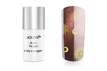 Jolifin Quick-Farbgel shiny mahagoni 11ml