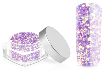 Jolifin Hexagon Glitter lavender