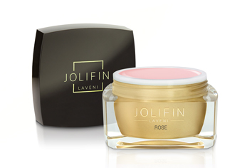 Jolifin LAVENI Farbgel - rose 5ml