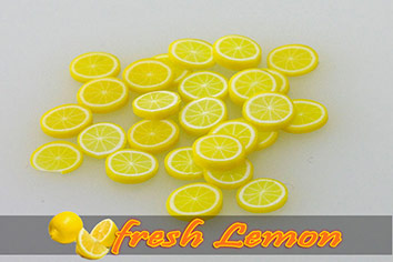 Fimo Frootys - fresh Lemon