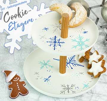 Cookie-Etagere