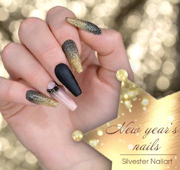 Silvester Nailart - New Year's Nails