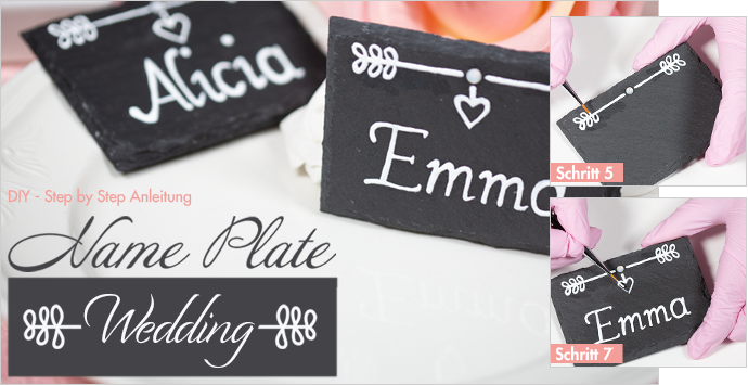 Name Plate - Wedding