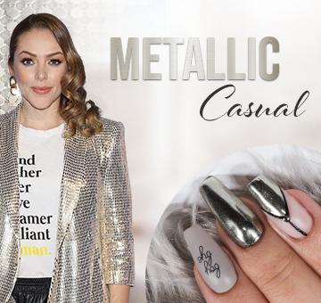 Metallic Casual