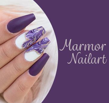 Marmor-Nailart
