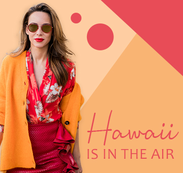 Hawaii is in the air