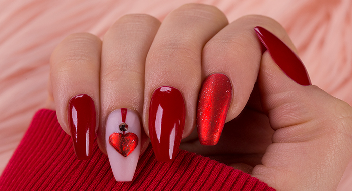 """Trendstyle Nailart: """"Love is in the Air"""""""