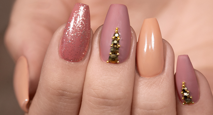 """Trendstyle Nailart: """"Earthy Colors"""""""